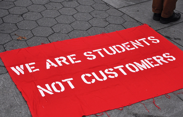 Should we charge students higher fees?